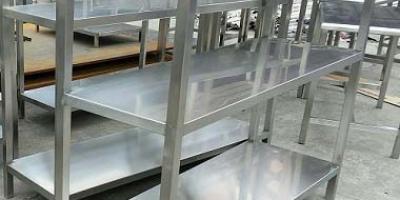 回收不锈钢货架_仓库货架回收公司