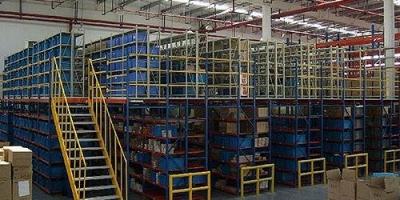 清远二手货架回收公司回收阁楼式货架